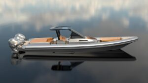 Revolt Comfort 14.00 with four Yamaha 425HP XTO outboard engines